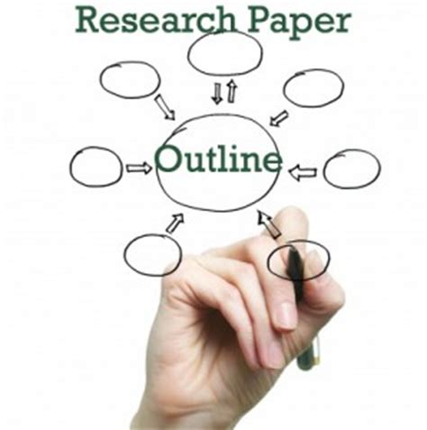 Research paper outline example help